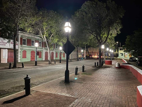 Light Installation: Time Square Historic District; St. Croix, US Virgin Islands
