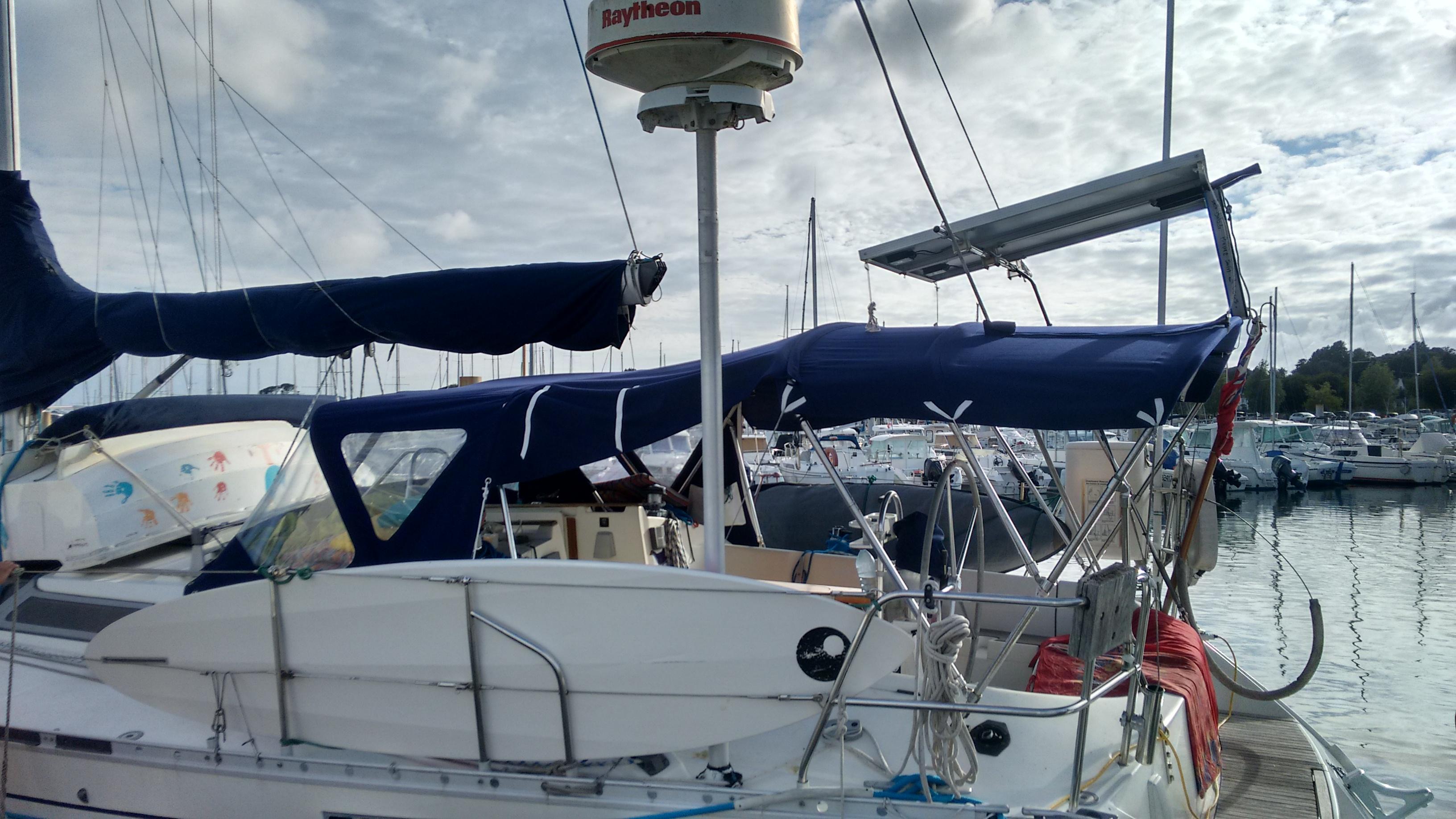 Capote, bimini, Oceanis 430