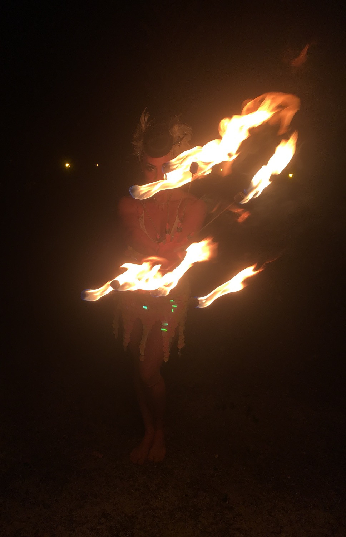 Kamila Fire Dance