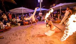 Fire Dancer Capoeira Dancers