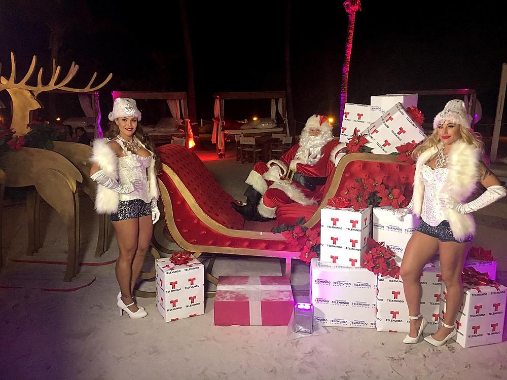 Santa and Greeters
