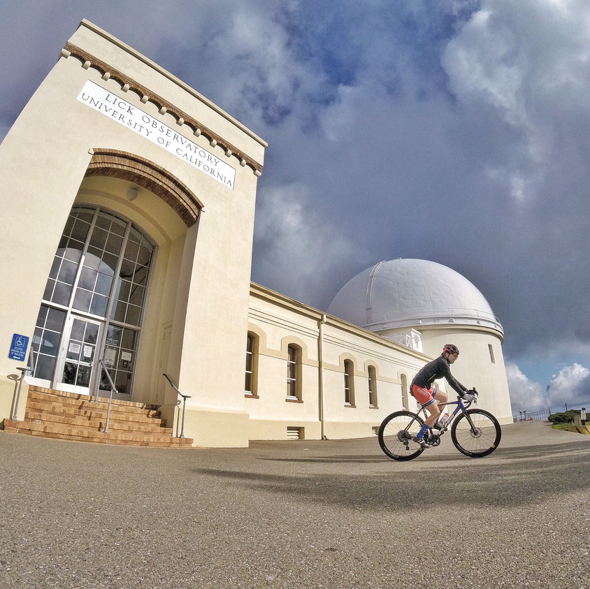 Lick Observatory above San Jose