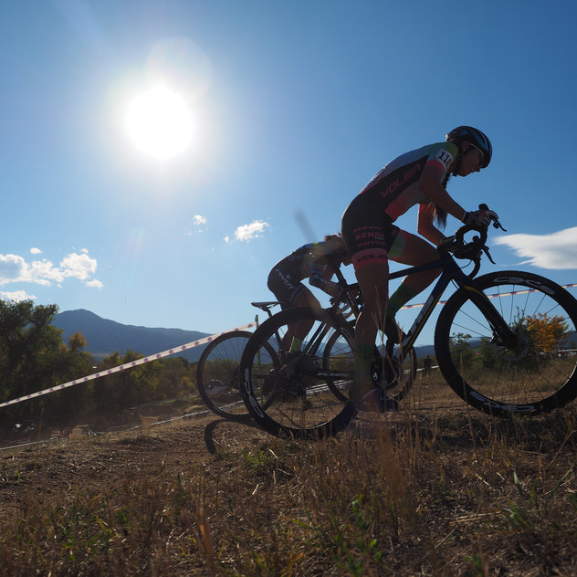 chasing the uphills at Valmont