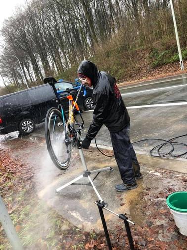 Bike washing for days