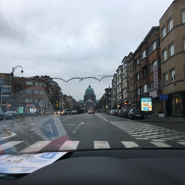 into Brussels