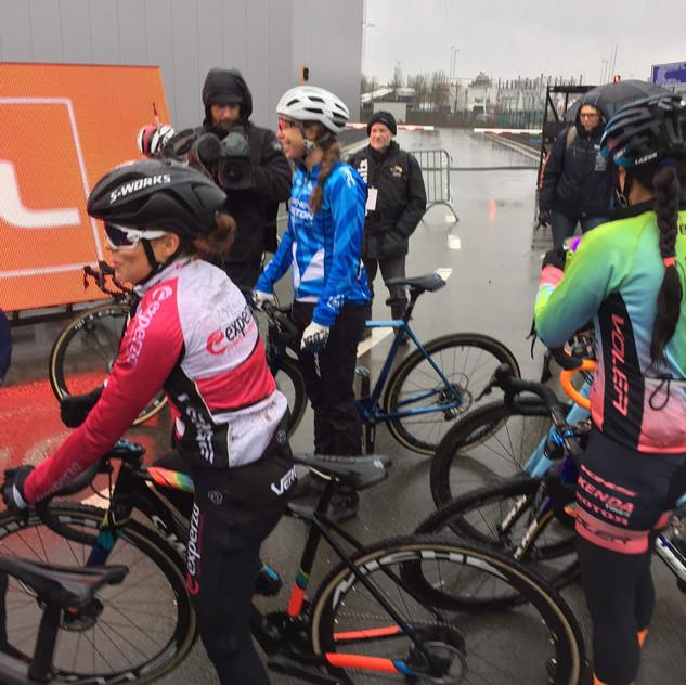 start line at Hoogstraten