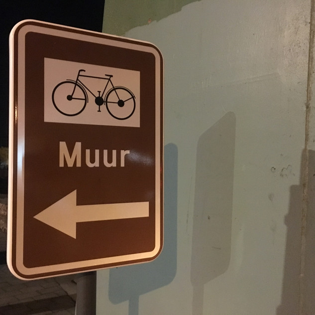 bike the wall!