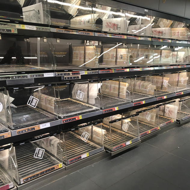 New Years eve bread shortage