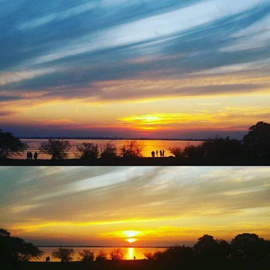 Por do Sol de Sábado - Beira do Guiaba