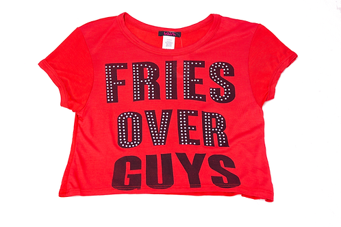 Blush: Fries Over Guys Tee