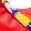 Thumbnail: Cristina Orozco Red Leather Luna Handbag