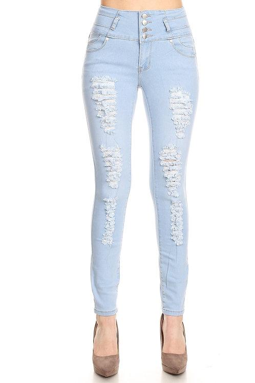 H&Y Fashion: Light Wash Jeans