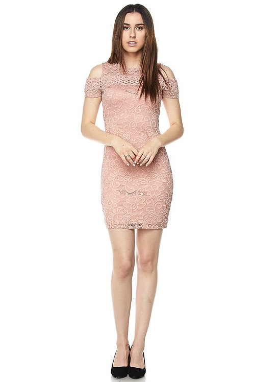 Ambiance: Lacy Bodycon Dress