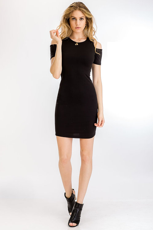 Capella: Open Shoulder Dress