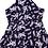 Thumbnail: Fashion Line: Floral Navy Blue Dress