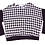 Thumbnail: Lumiere: Black & White Patterned Top