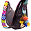 Thumbnail: Cristina Orozco Black Leather Luna Handbag