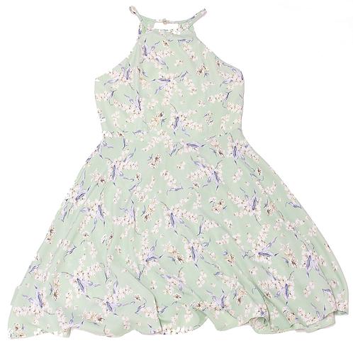 Fashion Line: Floral Mint Dress