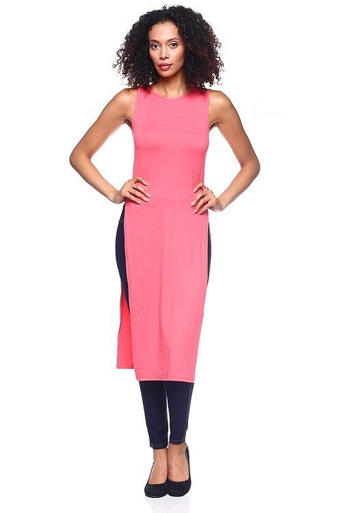 Capella: High Slit Tank Dress