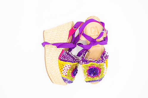 Carolina Acevedo Rainbow Wedges