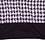 Thumbnail: Black & White Zig Zag Pattern Top (Plus Size)