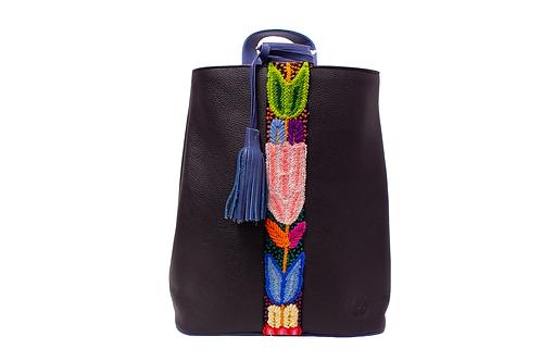 Cristina Orozco Black Leather Backpack