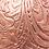 Thumbnail: AngeLozano Chiapas Rose Gold Metallic Leather Backpack