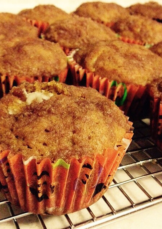Creamcheese Filled Pumpkin Muffin