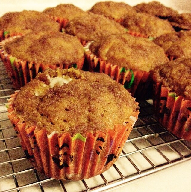Creamcheese Filled Pumpkin Muffin