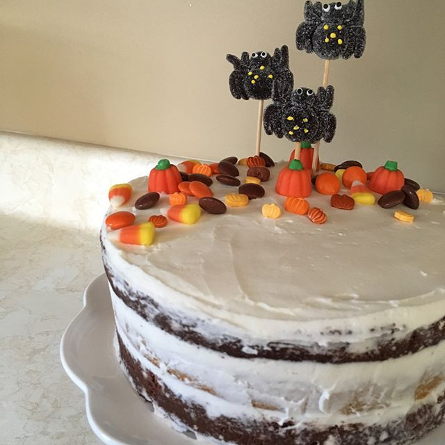 October Birthday Cake