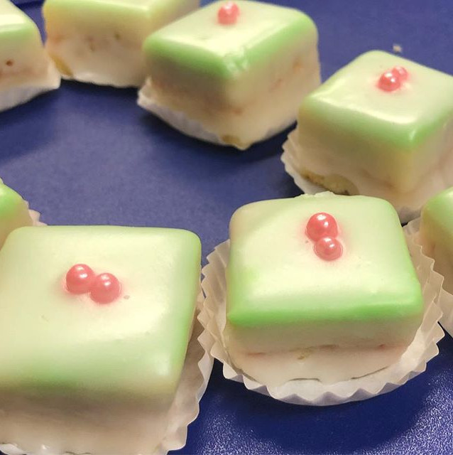 Lemon Petit Fours