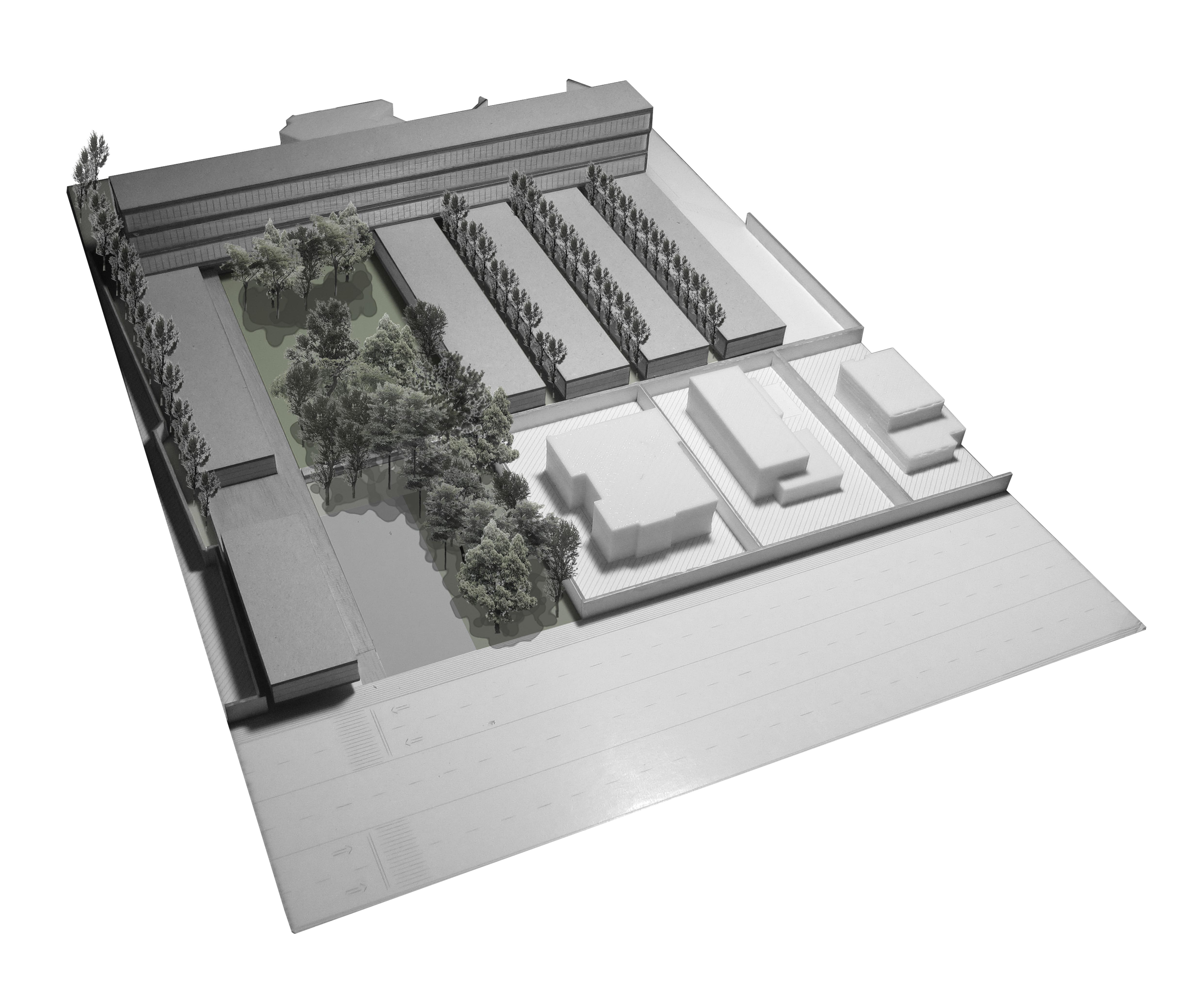 Maqueta 5º de Arquitectura