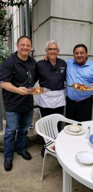 Chef Franco w/  Chef Vito from Bari