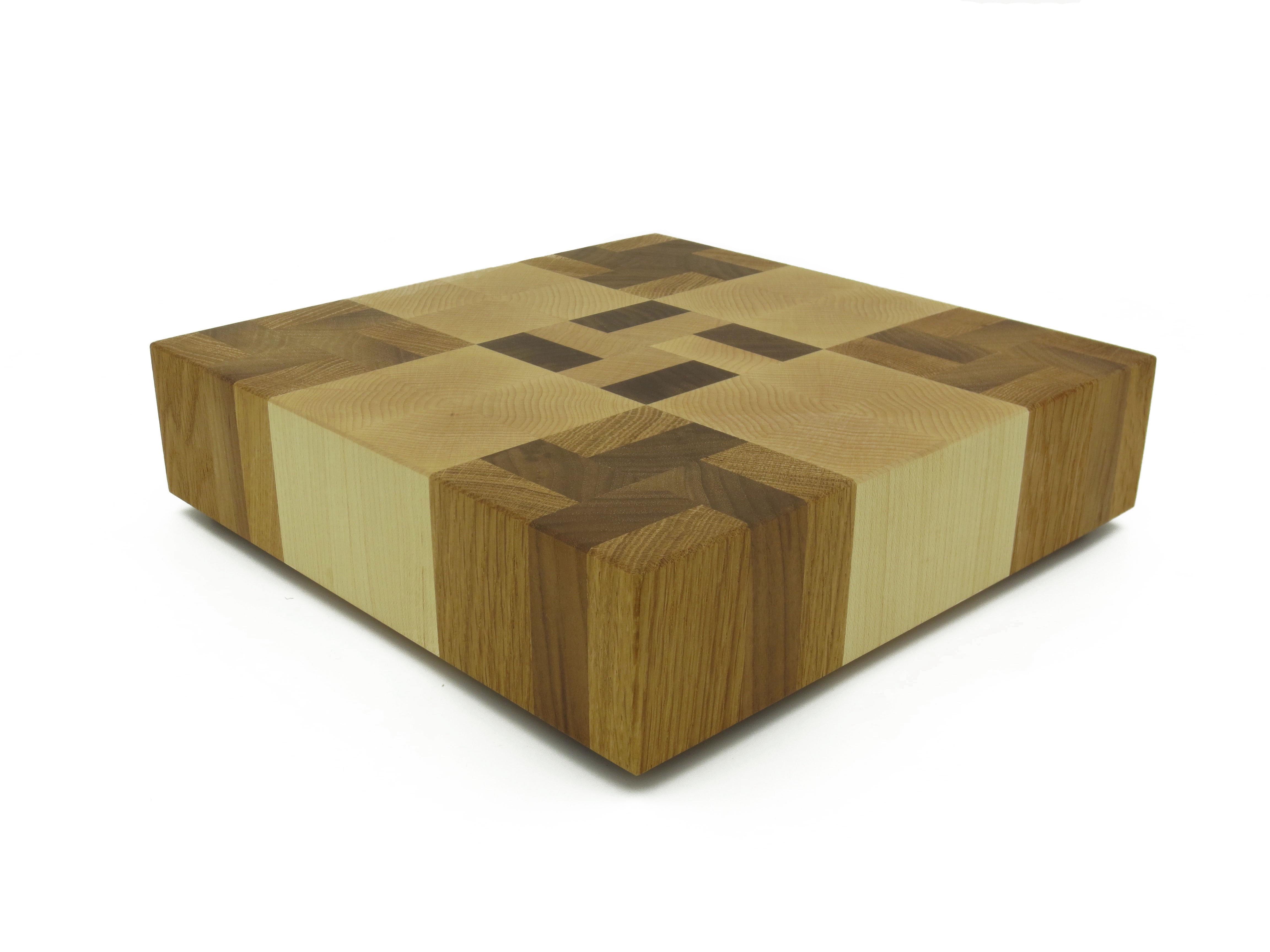 End Grain Coffee Table.9 Square End Grain Cutting Board
