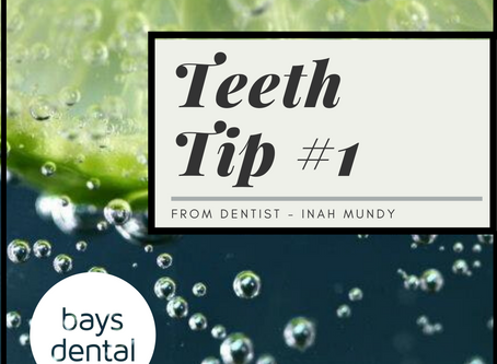 Teeth tip #1: Be careful what you're drinking
