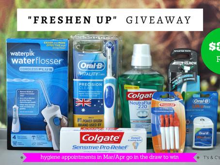 """Freshen Up"" Hygiene Giveaway"