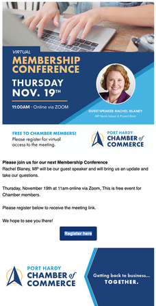 Virtual Membership Conference with the honourable MP Rachel Blaney