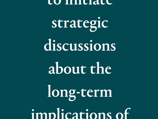 Managing COVID-19 Challenges + Identifying Opportunities: a report for leaders