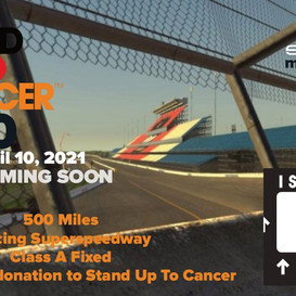 Stand Up To Cancer 500 Presented By Into The Apex Podcast