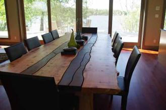 Don Bastian Live Edge Hand large dining