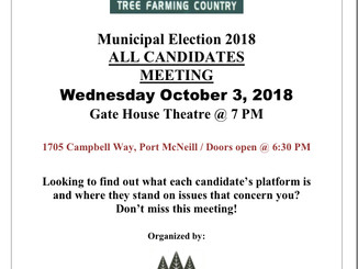 2018 Municipal All Candidates Meeting