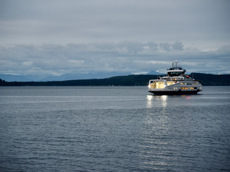 """Port McNeill Chamber of Commerce WELCOMES BC Ferries newest vessel """"Island Aurora"""" to serv"""