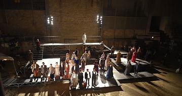 Acte 3 du Grand Théâtre de Paris aux Arènes de Lutèce en 2017