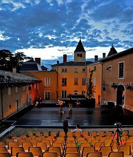 le Château de Machy, lieu de résidence du Théâtre de l'Arc en Ciel