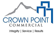 Crown Point Commercial (color on white)