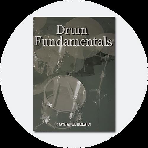 Buy the Yamaha Drum Fundamentals course book