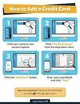 How to Add a Card for Payment