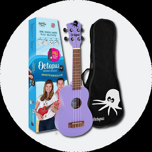 Buy purple Octopus Ukulele
