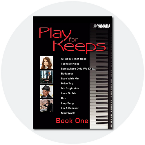 Buy the Yamaha Play For Keeps course book for Keyboard