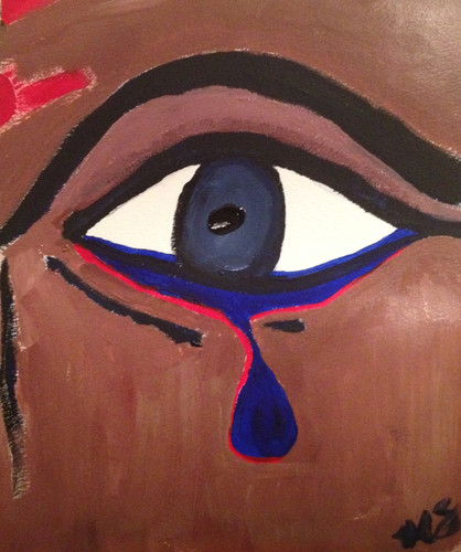 Tears She Cries: Abuse in Isolation